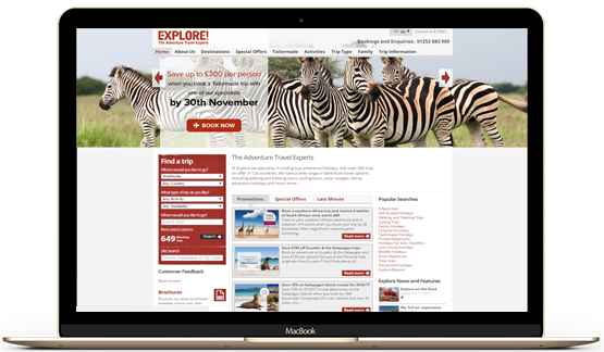 Explore.co.uk SEO Case Study