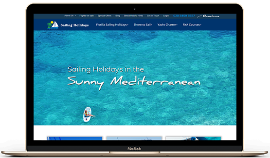 Sailing Holidays Case Study